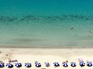 Cala Galdana beach at the yoga retreat in Menorca, Spain.