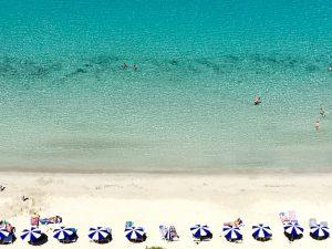 cala galdana beach on a yoga retreat in menorca