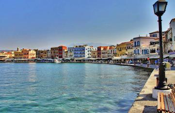 chania town on a yoga retreat in crete