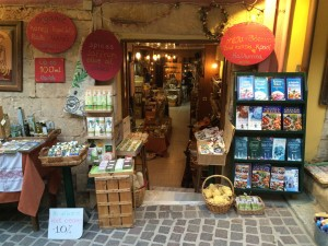 A nice, little shop in the town of Chania.