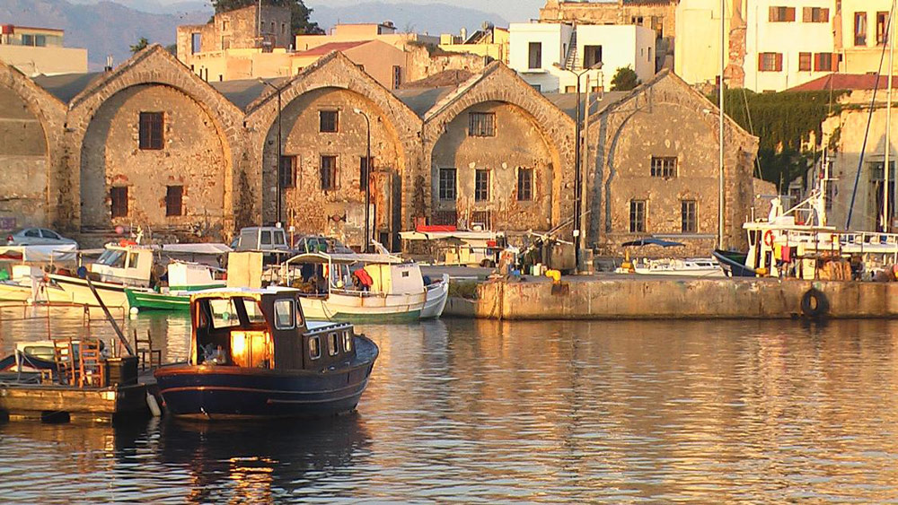 Chania waterfront Yoga Escapes