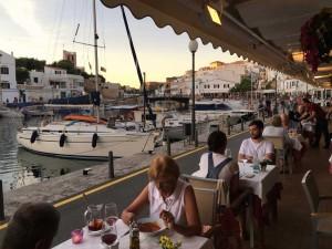 Cuitadella port in Menorca, Spain.