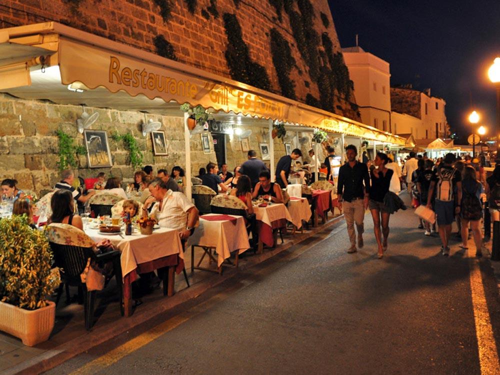 Ciutadella Restaurant in Menorca