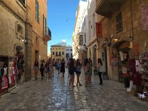 Cuitadella town, Menorca, Spain.