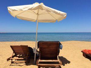 crete beach with yoga escapes