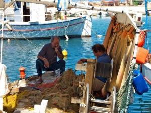 Crete fishermen