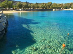 discovering small coves in crete greece with yoga escapes