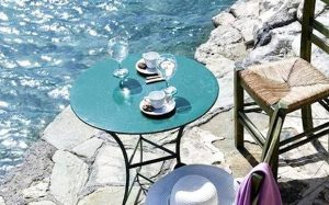 chania crete table and chairs