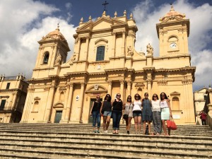 Day trip to Noto in Sicily, Italy.