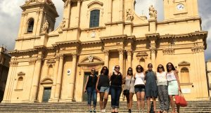 day trip to noto sicily on a yoga retreat