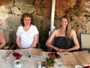Dinner in Cuitadella, Menorca.