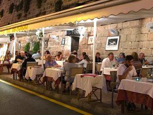 dinner ciutadella town menorca spain
