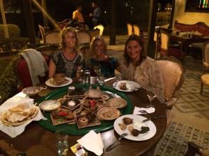 Dinner in Soma Bay, Egypt.