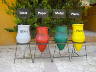 Egypt recycyling in the Yoga Retreat