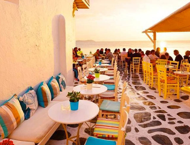 Experience beautiful Mykonos sunsets on a 5 star yoga retreat