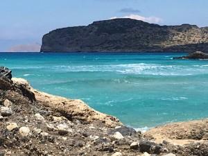 Falasarna beach in Crete.