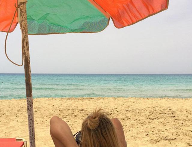 falasarna beach on a yoga retreat in crete