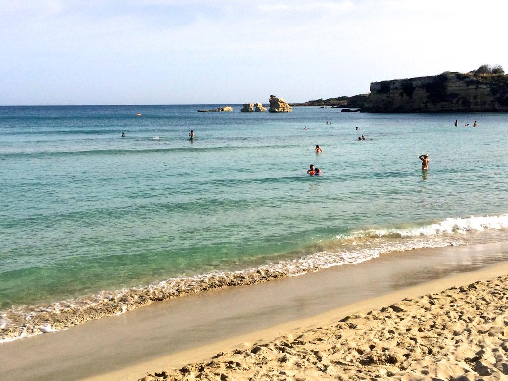 Fontane Bianche Beach Sicily Yoga Escapes
