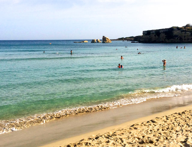 fontane bianche beach in sicily on a luxury yoga retreat in italy with yoga escapes