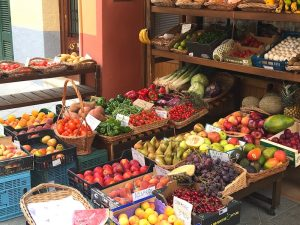 fruit market menorca spain