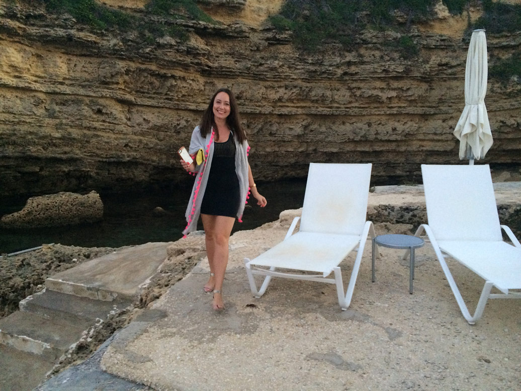 Guest enjoying the Yoga Retreat in Sicily