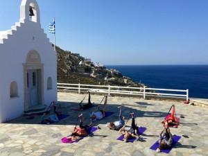 Hamstring Stretches Yoga Retreat Mykonos