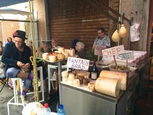 A selection of Italian deli in Sicily.