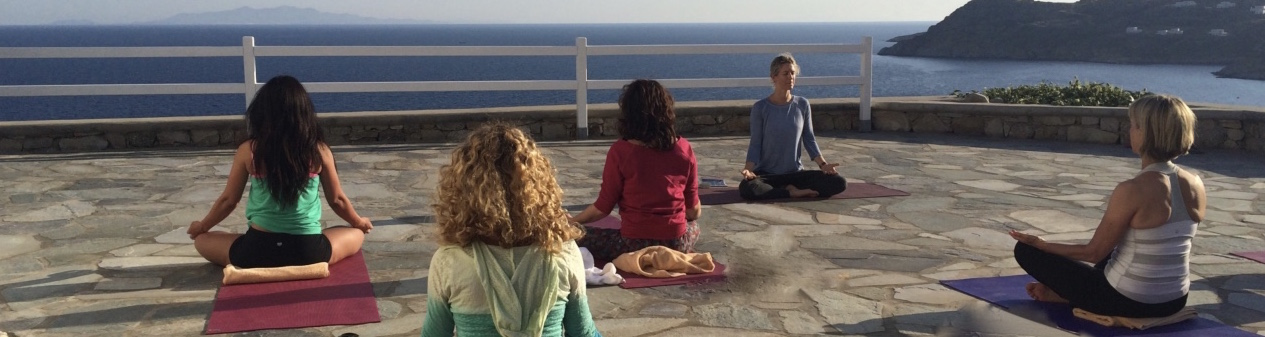 Luxury yoga lessons by the sea