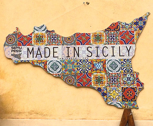 Made in Sicily Wall Art