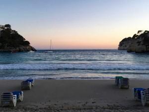 Menorca looking beautiful at dusk.