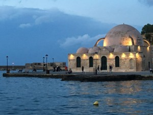 Mosque in Chania town, Crete.