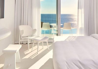 modern rooms at the myconian imperial hotel mykonos luxury yoga retreat