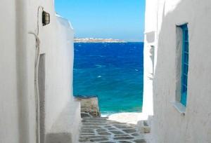 mykonos view greece yoga retreats