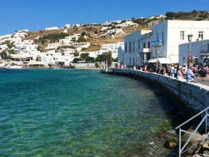 old port in mykonos greece