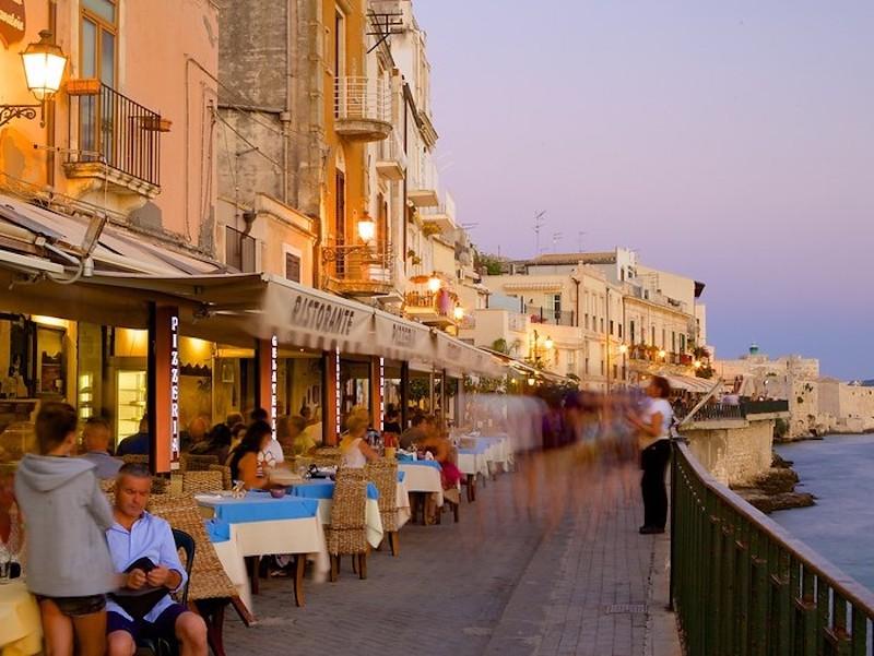 Waterfront In Ortigia Sicily On A Luxury Yoga Retreat
