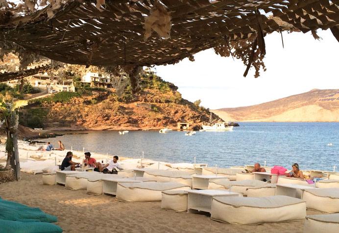 Panormos beach in Mykonos
