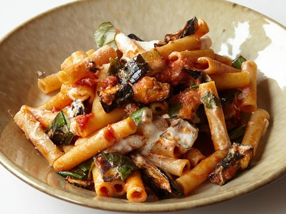 Delicious pasta in Sicily on a luxury yoga retreat in Italy with Yoga Escapes.