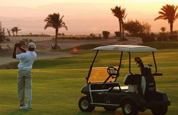 Play Golf on an Egypt Yoga Retreat in Soma Bay