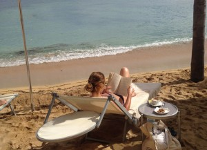 relaxing-on-beach-after-yoga-italy
