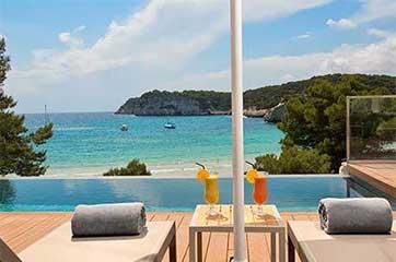 relaxing beach views