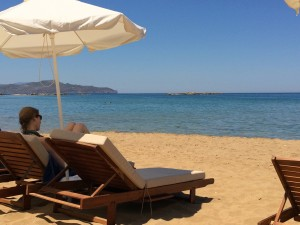 relaxing-on-beach-crete