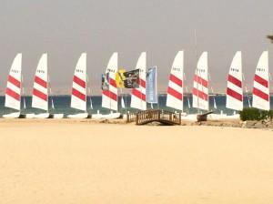 Sailing in the Egypt yoga retreat.
