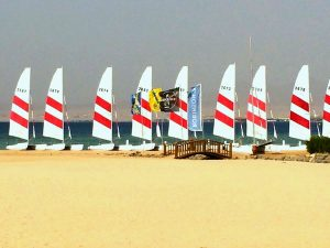 sailing in egypt on a luxury yoga retreat