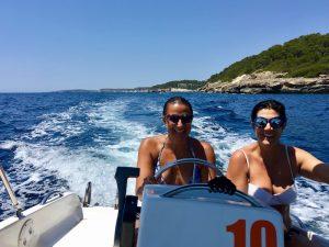sailing in menorca spain in between yoga classes