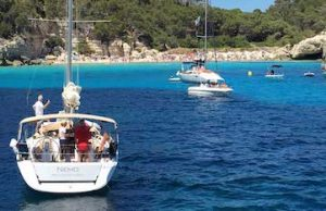 sailing in menorca spain on a luxury yoga retreat with yoga escapes
