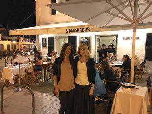 samarador restaurant in menorca spain