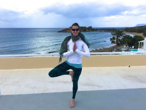 Sarah Scott on a luxury yoga retreat in Crete.