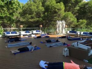 Savasana yoga retreat, Spain.