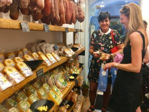 shopping in menorca spain with yoga escapes