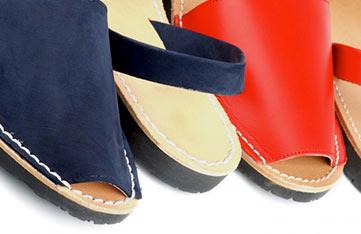 abarcas sandals menorca spain